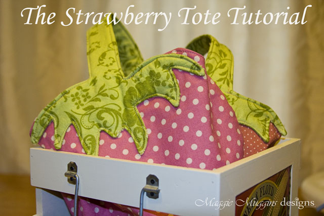 Strawberry Tote Tutorial