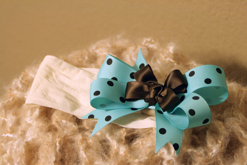 Aqua and chocolate by Ladybugs & Bullfrogs
