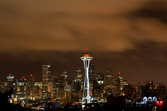 In Support of the Japanese People, the Space Needle lit up Red (hEAtOniK) Tags: seattle red white lightpainting art skyline clouds washington nikon nightshot queenanne space kerry needle spaceneedle kerrypark 1855mm washingtonstate shutterrelease seattleskyline lightart westernwashington cloudynight nightcapture forjapan redspaceneedle d3100 nikond3100 japanquake japandisaster japandisastersupport