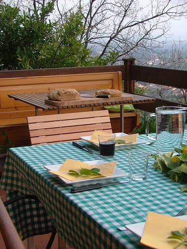tavolo - pane al farro e danubio
