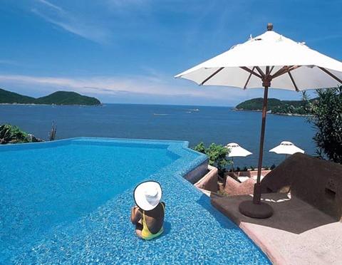 piscina hotel mexico