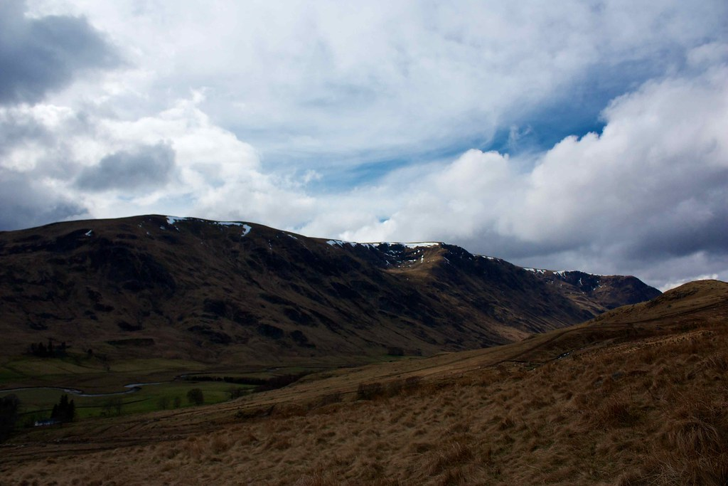 Hills above Glen Clova