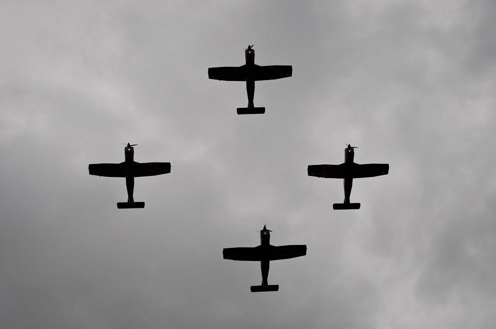 Aviones de Instrucción T-35