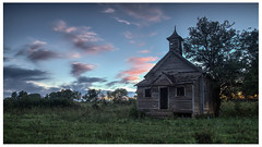 Days End (scott branine) Tags: surprise school rodney harvey flint hills kansas marshall county pentax k1