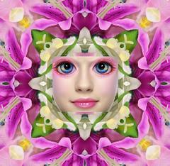 Flora (Cristina Burns) Tags: cristinaburns popsurrealism contemporaryart portrait photography photovogue digitalart photoshop surrealphotography foodphotography