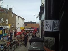 street view (Rafael Parrsie) Tags: sticker street view art publicity public parrsie