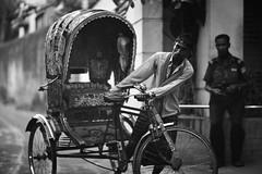 Take Your Time Man ! (N A Y E E M) Tags: rickshaw securityguard neighbour candid portrait street rabiarahmanlane chittagong bangladesh windshield ramadan evening