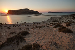 Balos sunset (lightsaber*) Tags: balos balosbeach beach greece grecia crete creta sea seasight sunset tramonto burn orange pink blue chania kissamos mirror island mare red paradise paradiso sand landscape paesaggio seascape september summer hot sky sun bluesky crystal water europe kríti elláda
