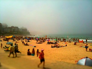 Happy Australia day 2011, enjoying the heat and steam on Australias famous Cronulla beach #iPhoneography