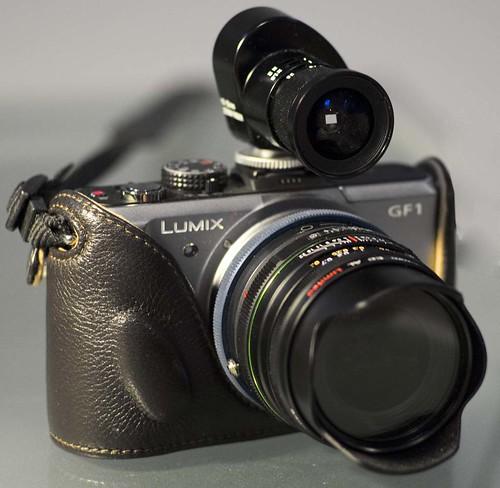 Panasonic GF1 Pentax 15mm f/4 Novoflex Pentax K > m4/3 adapter