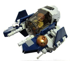 Chibi Eta-2 (2) Now on Cuusoo (tbone_tbl) Tags: 2 star fighter lego chibi jedi obi wars wan eta kenobi starfighter fbtb actis foitsop chibifighter