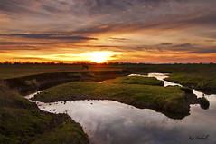 Ditch (ken.hubbell) Tags: sunset water landscape 1224 d300 kenhubbell