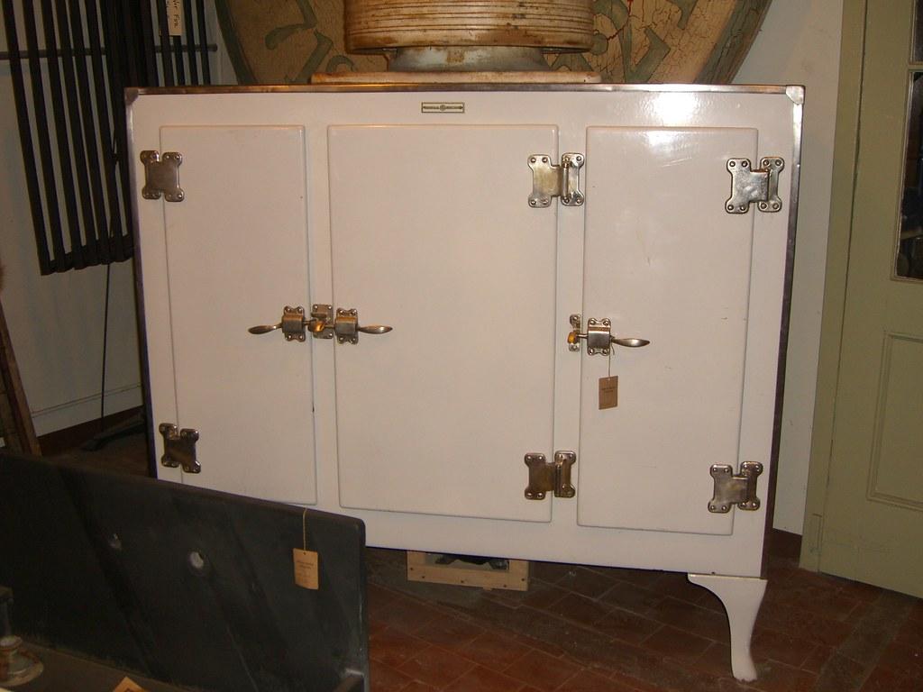 Three Door GE Monitor Top Refrigerator- SOLD