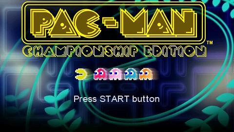 PAC-MAN Championship Edition minis for PSP & PS3