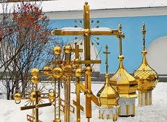 Golden domes (Osdu) Tags: travel shop market churches cathedrals ukraine dome domes kiev kiew  churchmarket kievpechersklavra    kif