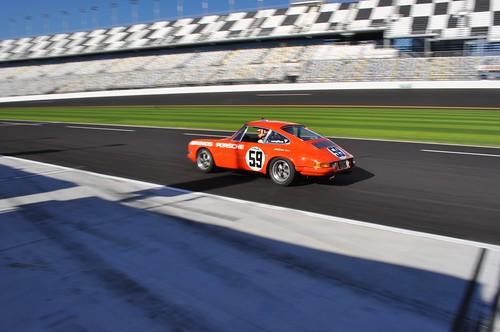 Vintage Brumos Porsche 911 S