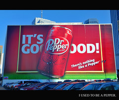 393.730 - I used to be a Pepper. (Randy Herbert) Tags: dallas nikon texas potd billboard drpepper hdr highdynamicrange project365 d700 january2011 project36612011 randyherbert 3652011 2011inphotos 012811