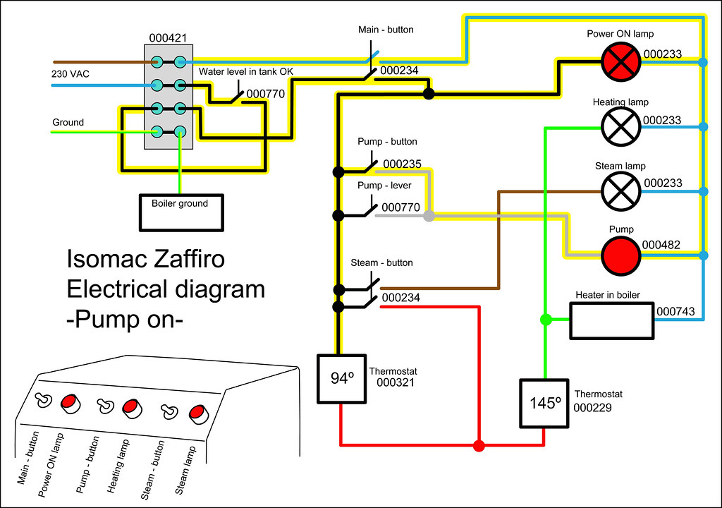 electrical diagram-zaffiro pump on