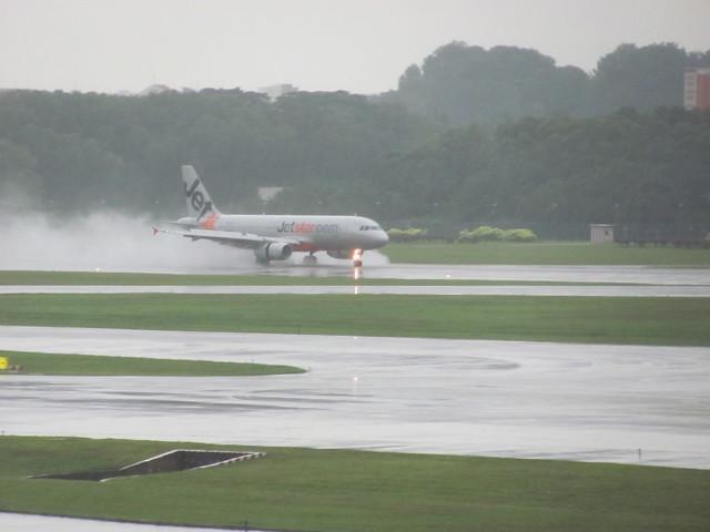Jetstar Landing Changi Sg