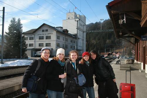 Grüsch Station