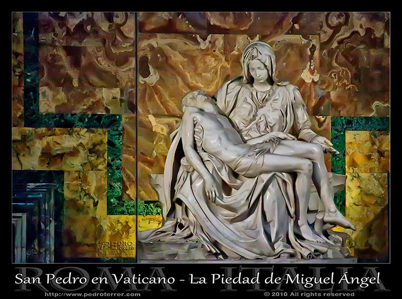 Roma - San Pedro - La Piedad de Miguel Ángel
