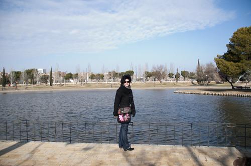 Posando en el parque 4