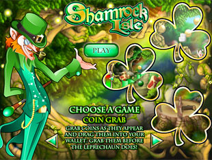 free Shamrock Isle slot bonus feature 1