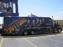 The Duttons Tour Bus Wrap