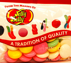 Jelly Belly Mint Creme bag