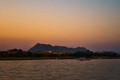 Sunset Udaipur lake (Tarun Chopra) Tags: india photography fort 7d gurgaon rajasthan udaipur bharat chittorgarh hindustan ultimateshot hindusthan canon7d richhistroy udaipurtravel rajasthaninwinters