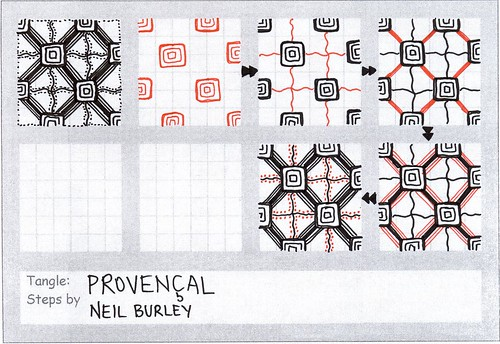 Provencal - tangle pattern by perfectly4med
