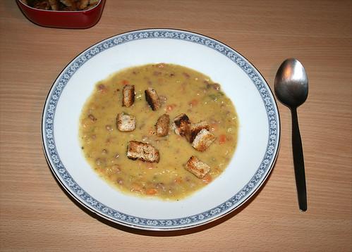 22 - Hessische Kartoffelsuppe - fertiges Gericht