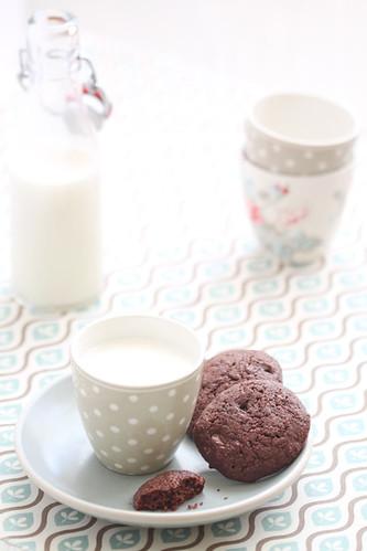 Galetes de xocolata i avellanes