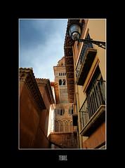 Teruel (S. Lo) Tags: travel espaa lamp spain cathedral streetlamp teruel mudjar aragn