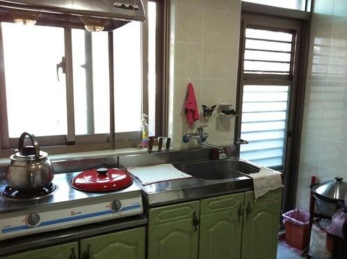 裝潢完工-廚房
