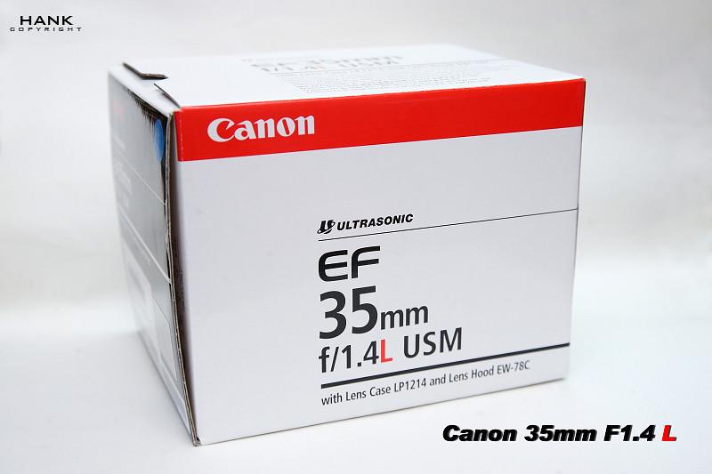 CANON 35MM F1.4 L