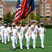 Naval ROTC ceremony