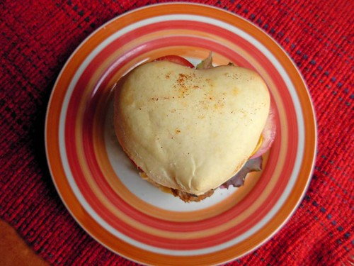 Valentine's Day Burgers