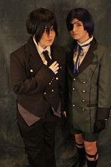 Taiyoucon 2011 Digitals: Couples and pairs (kevin dooley) Tags: arizona anime canon costume play sebastian cosplay ciel convention 24mm cos con mesa animeconvention taiyou 40d taiyoucon