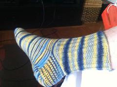 Dreidel Sock