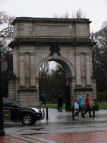 Entrance to St Stephens Green
