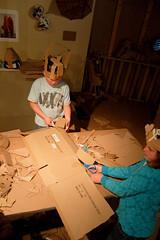 Ann Weber's workshop Day 2 (The Tinkering Studio) Tags: sculpture cardboard workshop exploratorium annweber materialitycardboard