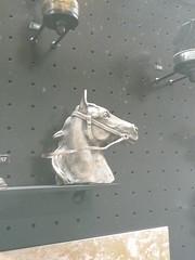 Emblme de voiture ancienne (kity54) Tags: auto old horse cars car cheval automobile cit voiture panasonic coche older dmc ancien mulhouse tacot  oler    emblmes tz5