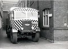 GCT Breakdown Tender, AEC Matador, YJV 964 (Andy Reeve-Smith) Tags: matador aec servicevehicles grimsbycleethorpestransport