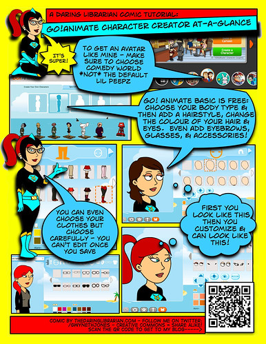 go animate at a glance ... comic format for printing