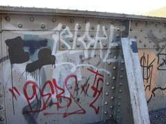 BLOKE / DEB8 (Same $hit Different Day) Tags: graffiti bay heaven tracks east debate lords bloke adhd tfl deb8