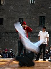 Spin = 1/2 (series) (Paco CT) Tags: barcelona spain break dancing streetphotography macba esp baile 2011 fotografiacallejera pacoct
