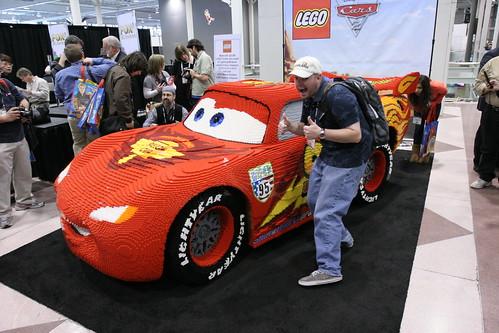 LEGO Toy Fair 2011 - Lightning McQueen Statue Unveiling - 36