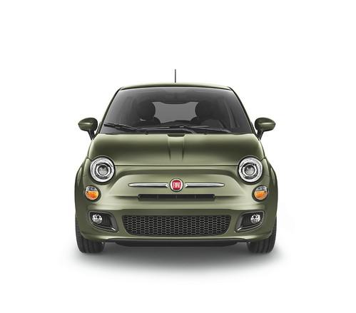 New 2012 Fiat 500 in Verde Oliva