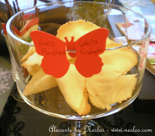 Şans Kurabiyesi ( Fortune Cookies)